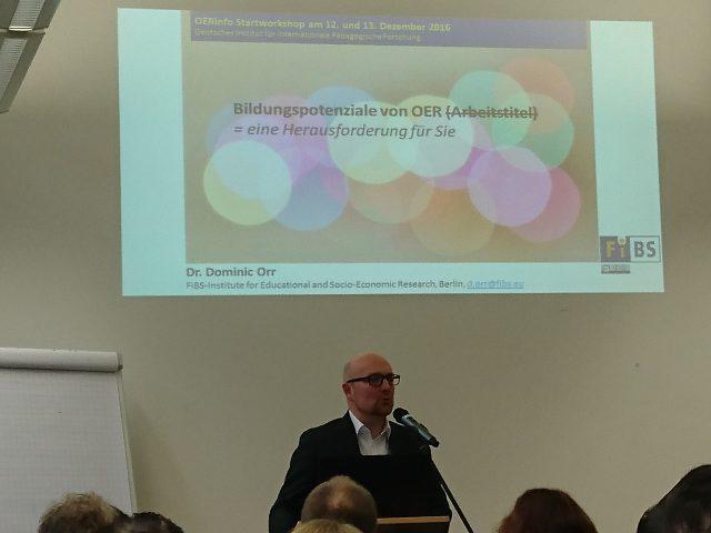 Keynote von Dr. Dominic Orr: Eröffnung