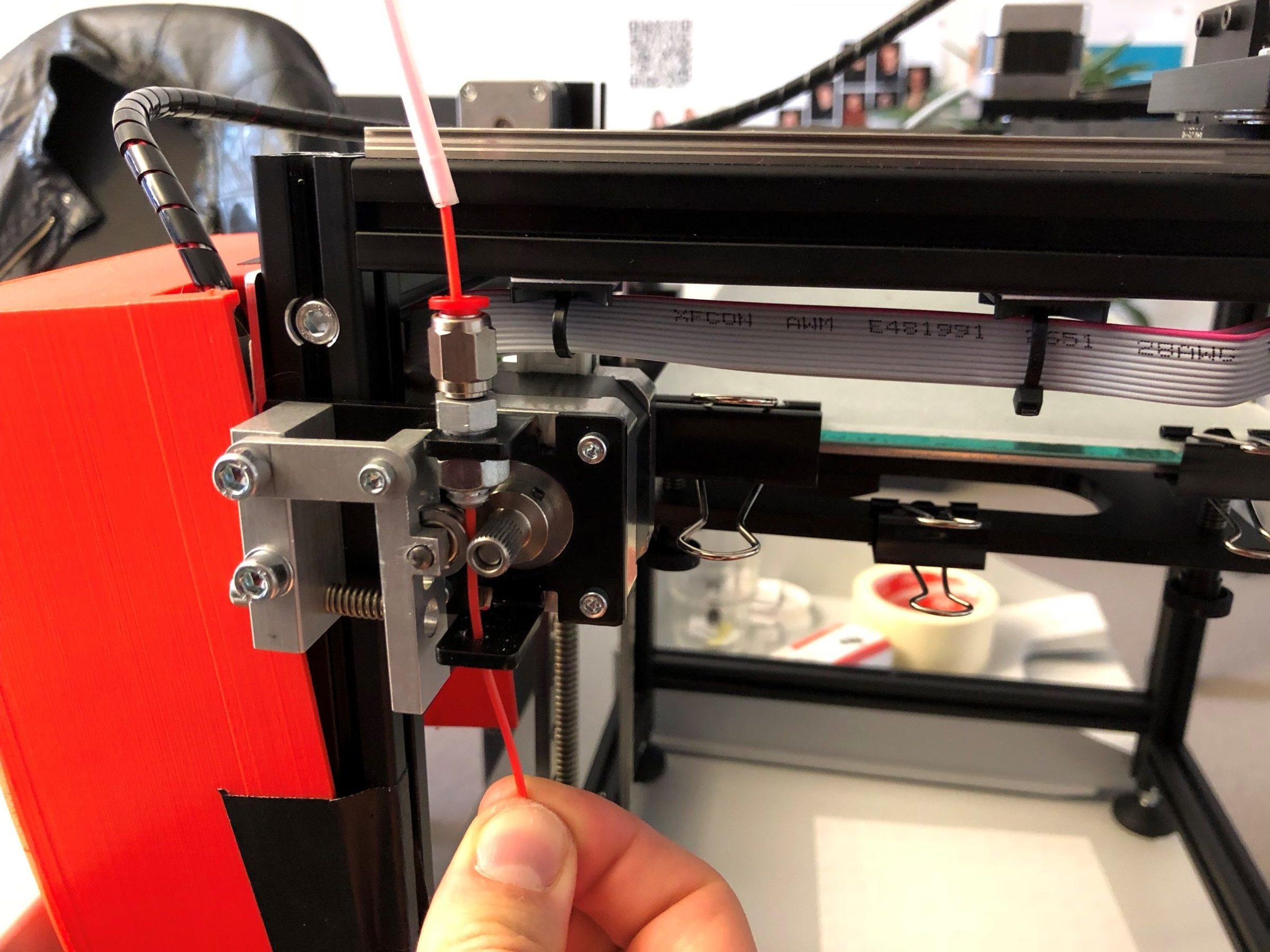 Filament wechseln 5.3